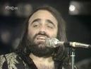 Demis Roussos Quisiera Bailar Esta Cancion Live Show RTVE. es Espagne 19 avril 1977
