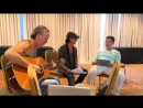 MORTEN HARKET w- Scorpions Live in Athens 2013 Extra [rehearsal interview (HD) - Sep. 2013]