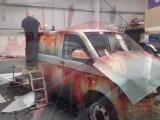 Volkswagen Transporter превратили в хлам