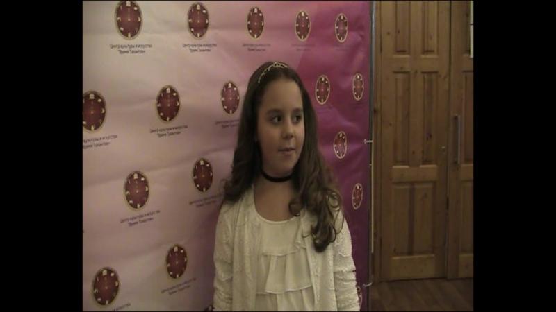 Небольшой репортаж после конкурса. Мария Яцкина.