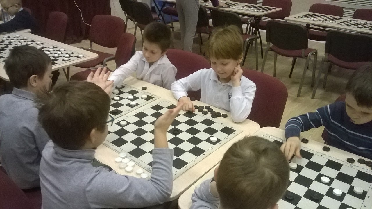 Фотоотчёт. Эпизод Турнира по шашкам