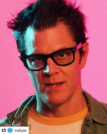 "Johnny Knoxville on Instagram: ""Butching it up at VultureFestival promoting @actionpointmovie."""