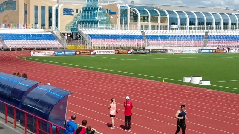 Чемпионат и первенство Р.Мордовии 19-20.05.18г. 4х100 женщины.