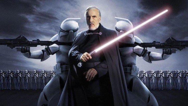 Звёздные войны Эпизод 2 Атака клонов HD фантастика фэнтези боевик приключения 2002