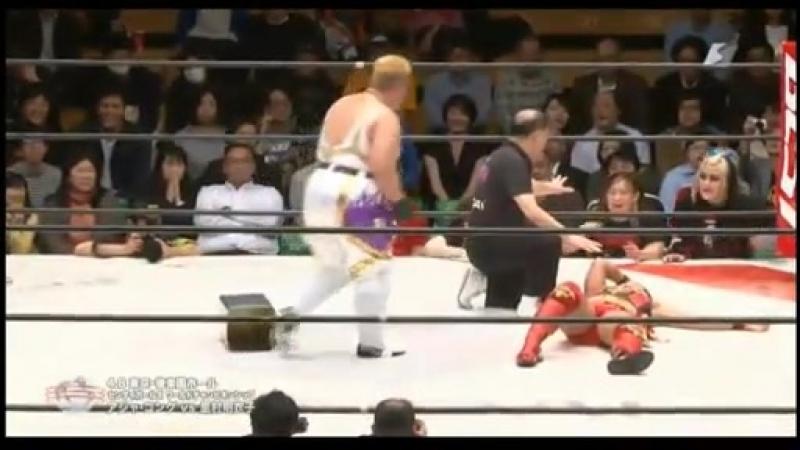 6 Meiko Satomura c vs Aja Kong 4 8 16