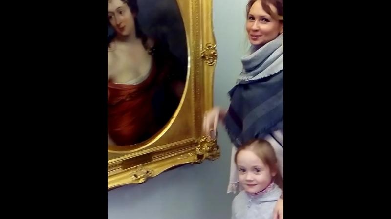 С Дашулей в Путевом Дворце