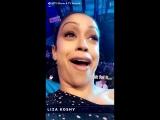 Liza Koshy reacting to seeing Lady Gaga live at the #MTVAwards
