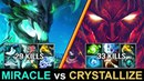 MIRACLE vs CRYSTALLIZE EPIC OD vs TERROR Rampage AMAZING Battle Highlights by Time 2 Dota dota2