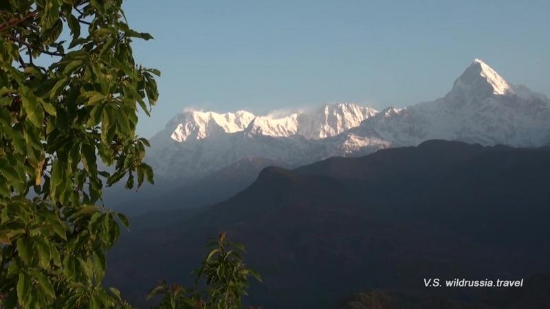 Восход в Гималаях: Нагаркот у Катманду и Саранкот у Покхары
