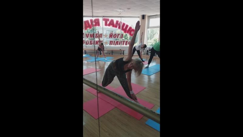 Йога мастер-класс