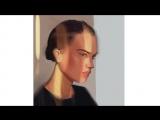 Ускоренное рисование портрета на IPad Pro