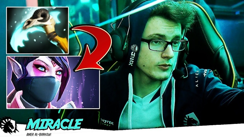 Miracle- UNREAL 1v5 Game, New Meta HEX Build on Templar Assassin - EPIC Gameplay 7.17 Dota 2