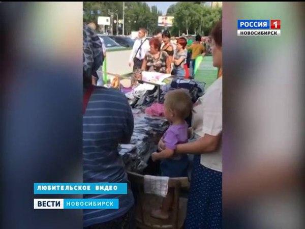 В Новосибирске мать бросила ребенка в машине в три