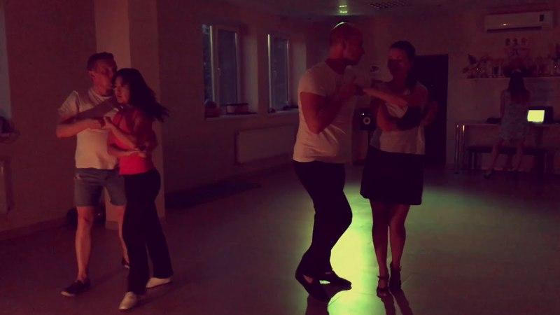 Salsa on2 in Palladium. New York. Krasnodar