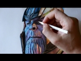 Танос маркерами - Бесконечная война - Мстители