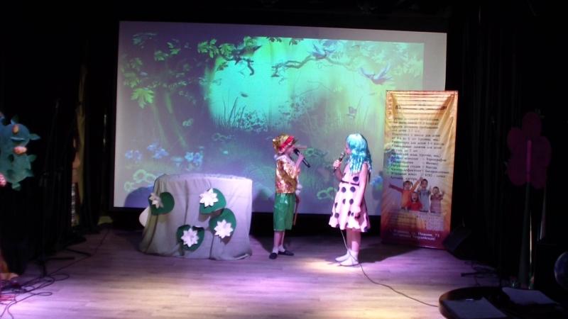 Отрывки из спектакля Буратино Театральная группа Чиполино