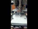 станок ЧПУ со старых дисководов ! ( рисовалка )
