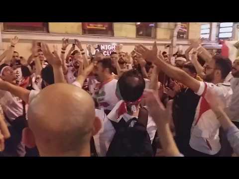 Иранские болельщики шизят в Питере Iran fans in Saint Petersburg