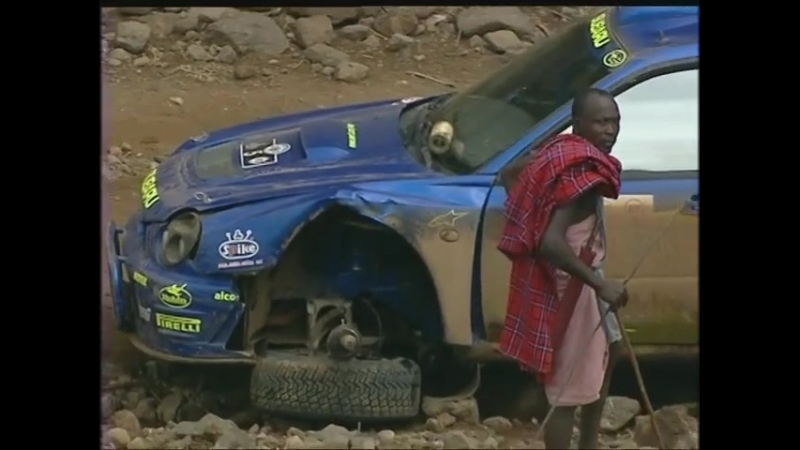 Видео к нижнему фото: Richard Burns 2001 Safari Rally subaru impreza wrc bugeye safari rally