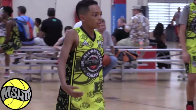 Kyelin King BREAKS ANKLES at the 2017 EBC Jr All American Camp