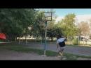 Adilkhan kyrie dunk contest