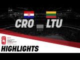 Хорватия - Литва - 0:3