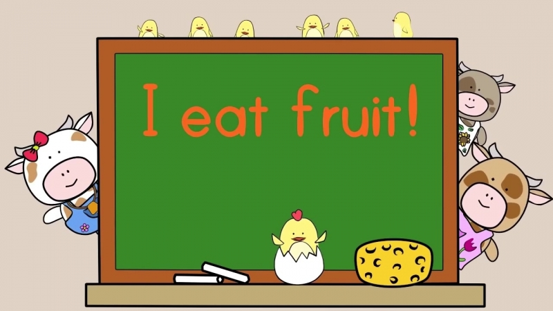 Fruit Song for Kids _ The Singing Walrus