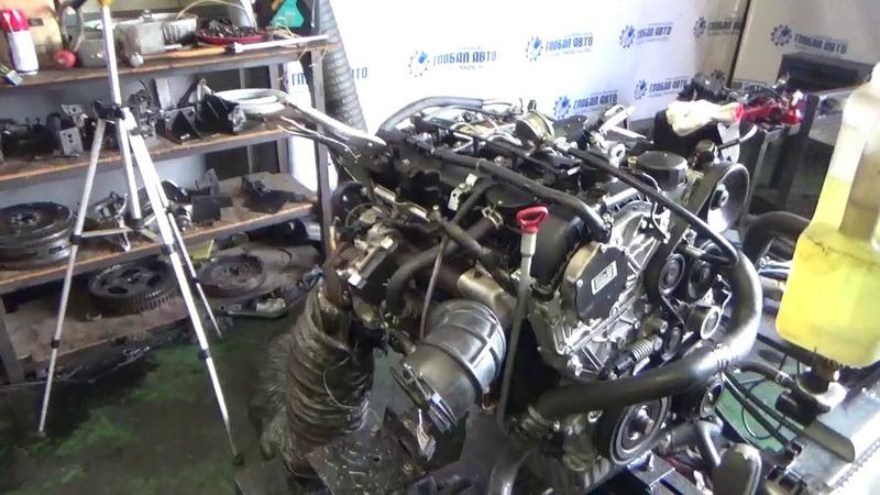 Проверка давления масла в двигателе 671960 10507875 D20DTR 2.0 л. Actyon , Rexton,Rodius,Korando