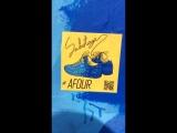 Стикер конкурс на кроссовки AFOUR
