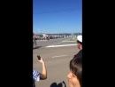 Парад техники на день ВМФ в Североморск