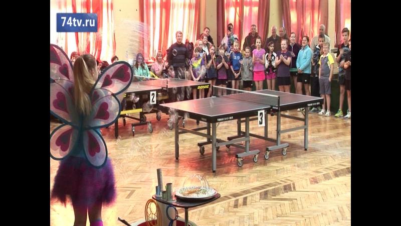 VII Кубок Амолини по настольному теннису. Видеосюжет Амолини ТВ