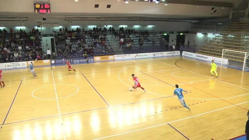 Italy League - Round 22 - Italservice Pesarofano 2x5 Lollo Caffè Napoli