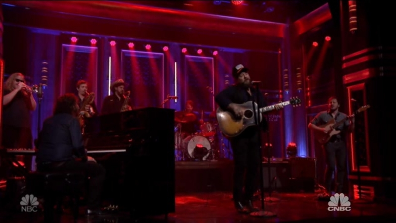 Nathaniel Rateliff the Night Sweats - You Worry Me (The Tonight Show Starring Jimmy Fallon - 2018-03-12)