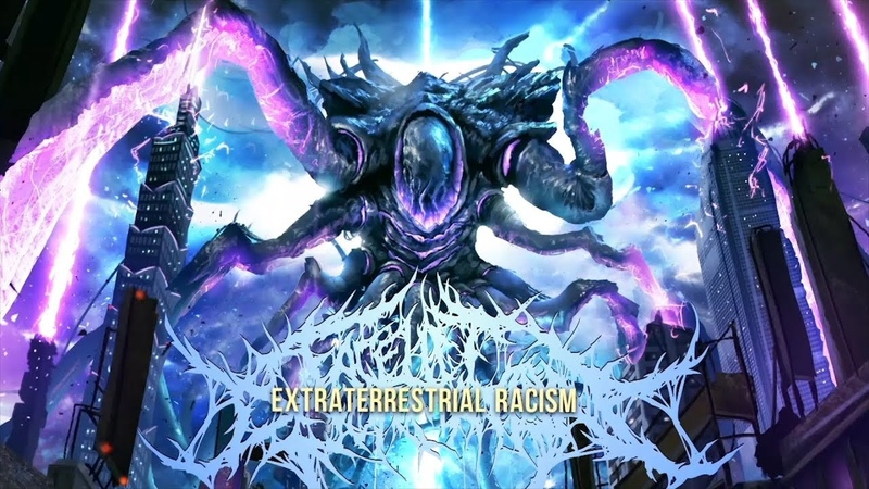 FACELIFT DEFORMATION - EXTRATERRESTRIAL RACISM [OFFICIAL LYRIC VIDEO] (2018) SW EXCLUSIVE