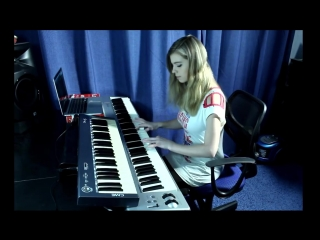 Skillet - Comatose ( keyboard cover).mp4