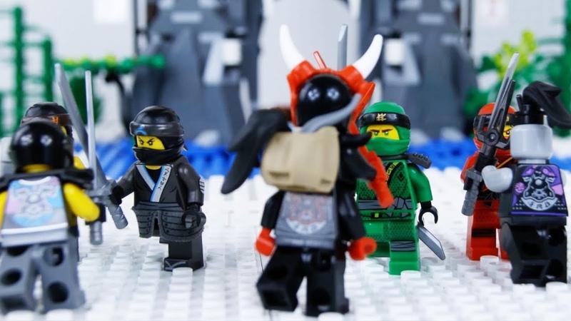 LEGO Ninjago Season 8 Full Mini Series STOP MOTION LEGO Ninjago Episode COMPILATION | By LEGO Worlds