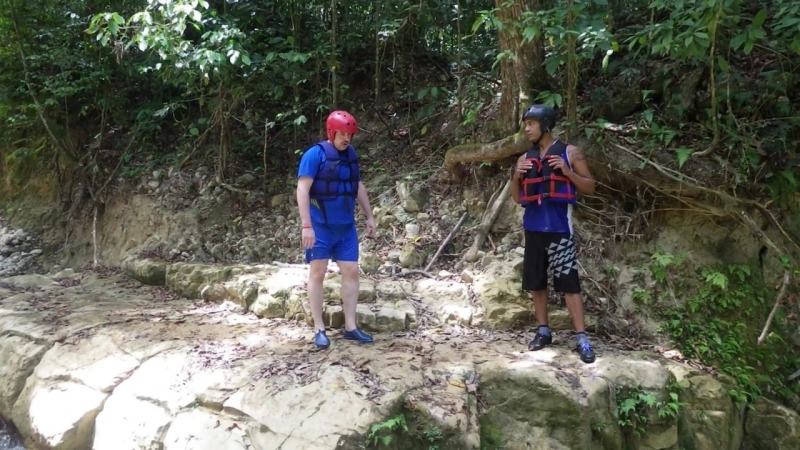Доминикана. 27 водопадов Я прыгаю