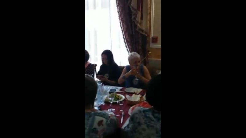 Встреча одногруппников ресторан Колизей снимает Руфина