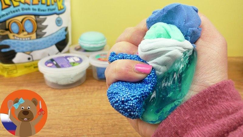 Смешивем 5 новых сортов слайма и пластилина Эксперимент ХХL Продолжение| Что получится для детей