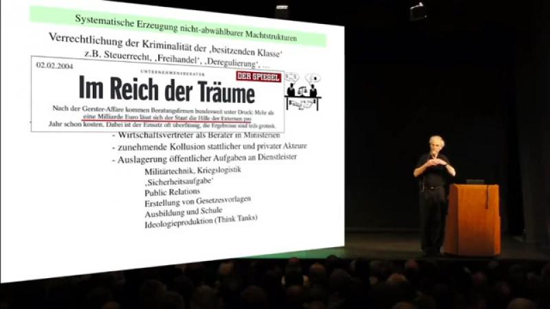 Zentrum der Macht für den Wähler unsichtbar ▶ Prof. Mausfeld