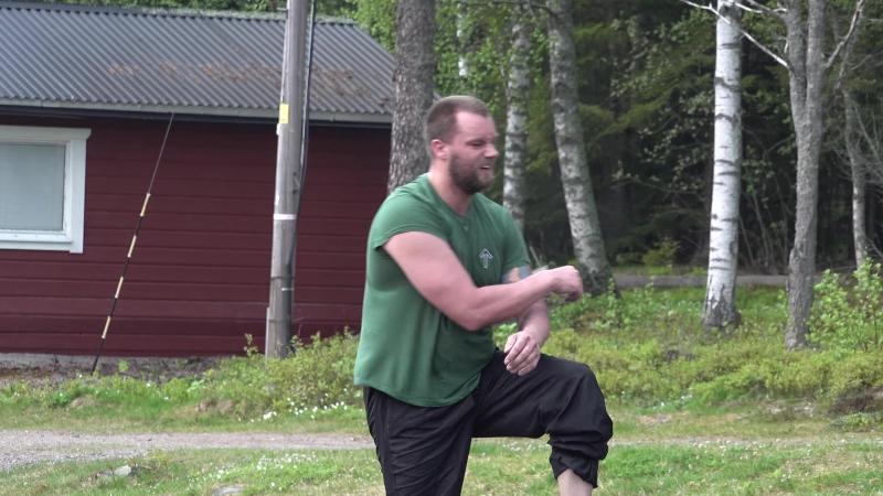 20180519 Träning i Näste 5 -- Pär Sjögren intervjuad