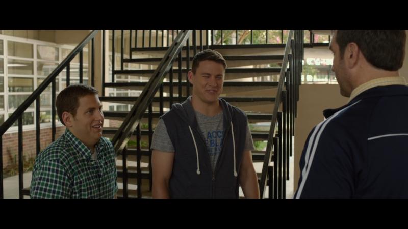Шмидт и Дженко обдолбались в школе Мачо и ботан 21 Jump Street фильм 2012 Джона Хилл Ченнинг Татум