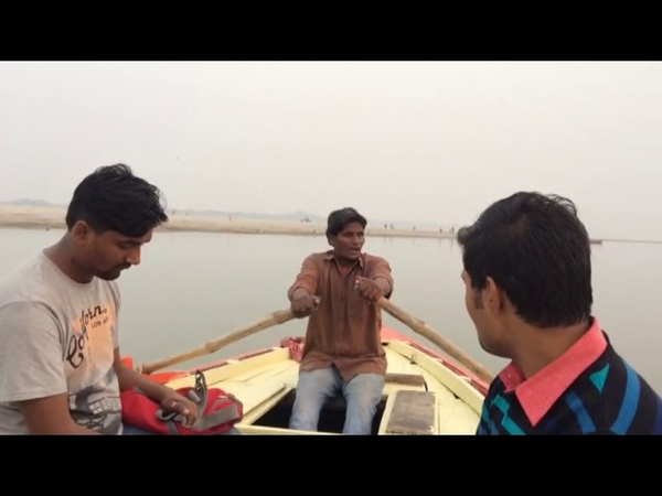 Varanasi Boatman Singing Beautifully