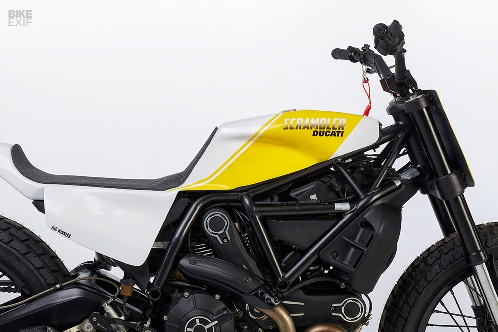 Bad Winners: кастом Ducati Scrambler 800 Tracker