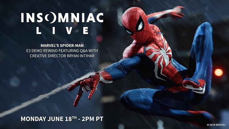 Marvels Spider-Man E3 Recap Gameplay