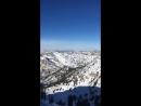 Высота 11 000 фитов, около 3500 метров Оттуда мы и спускались⛷🗻❄️