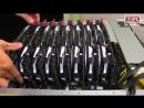 16 x GTX 1080 Ti 4 x E5 2699 V4 1 5TB RAM stack by dual Asus ESC8000 G3 ¦ AZPC TV