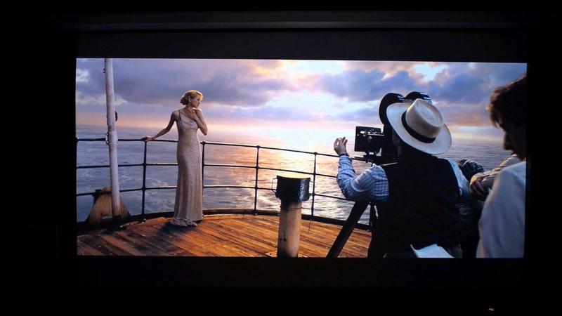 Panasonic AE7000U- King Kong Video-Movie Scene on Ship