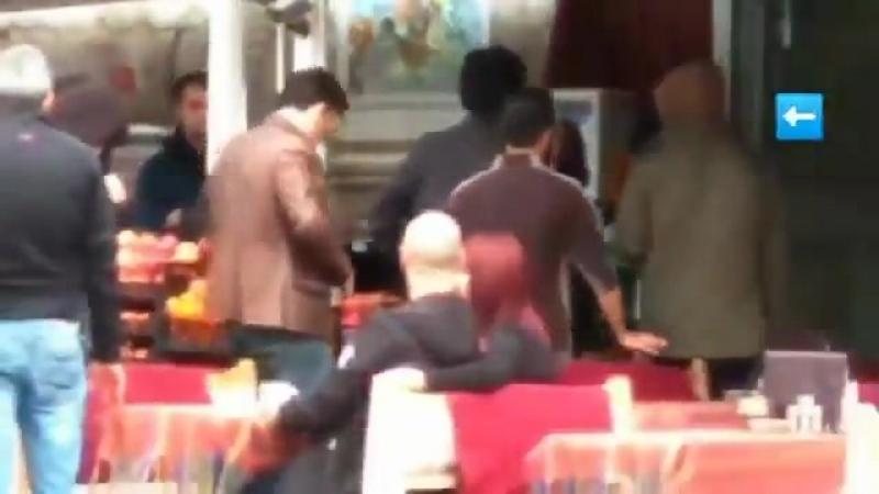 NEW Çağatay Ulusoy on The Protector set yesterday @ Sultan Ahmet Meydanı httpst.co7Avv0IhPdV