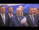 Владимир Жириновский на подходе к прессе в Государственной Думе дал комментарий случаю с главой Якутии Егором Борисовым в самоле